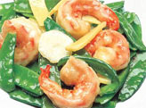 69. Shrimp with Snow Peas